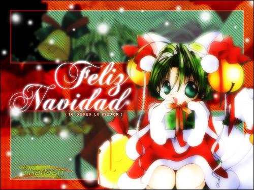 Imagenes Wallpapers navideñas Anime! Proximamente: aprende a Instalar temas Anime en Windows! 003-postales_navidad1